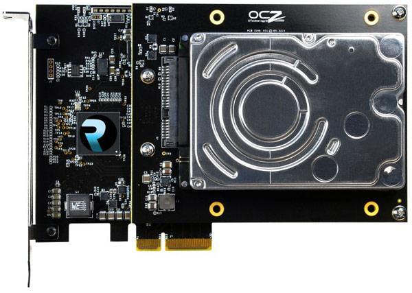 RevoDrive Hybrid pairs HDD with SSD on PCIe