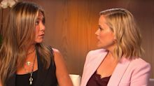 Jennifer Aniston And Reese Witherspoon Recreate That Famous 'Friends' Exchange