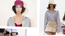 Designers Were Obsessed With Bucket Hats This Fashion Week