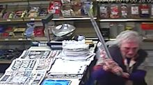 Gran, 82, fights off shop raider with walking stick