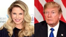 Christie Brinkley claims Donald Trump hit on her while he was married to Ivana