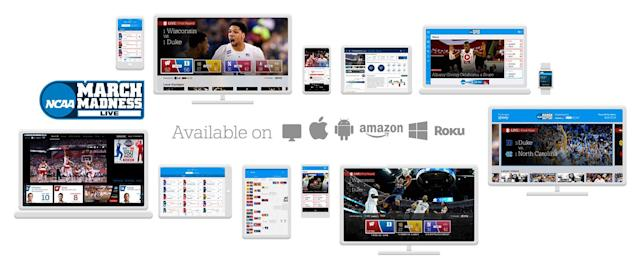 NCAA March Madness Live streams games to even more devices