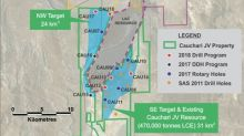 Cauchari JV Drilling Update Excellent NW Sector Results Averaging 571 mg/l Li - Hole CAU17