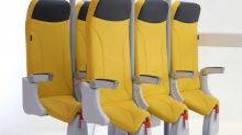 New upright airline 'seat' could see 20% more passengers fit into planes