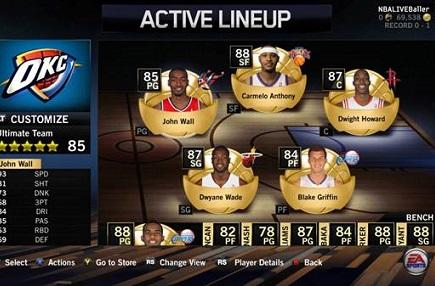 NBA Live 14 getting its own card-based Ultimate Team mode
