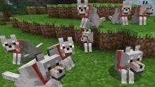 Minecraft, come domare e allevare i lupi
