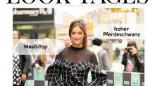 Look des Tages: Minka Kelly im semi-transparenten Karokleid