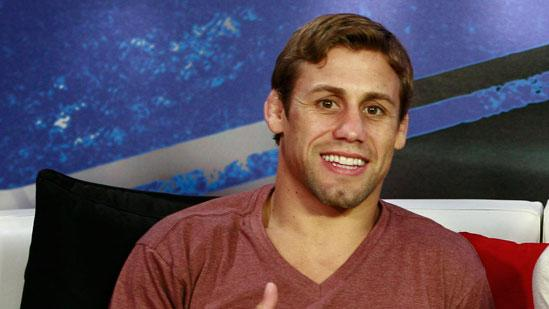 Fighter Urijah Faber and His Many Iron Fists in the Fire