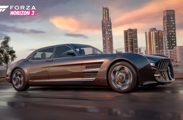 The 'Final Fantasy XV' bromobile invades 'Forza Horizon 3' next week