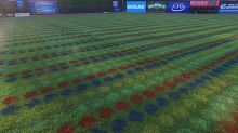 The St. Paul Saints played a game with 56,000 Twister dots on their field