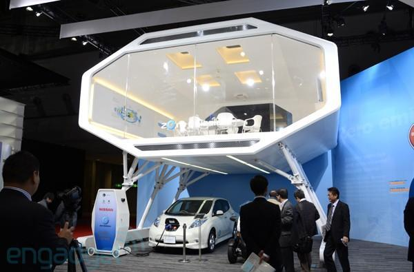Nissan demonstrates Leaf-powered Smart House, we go hands-on