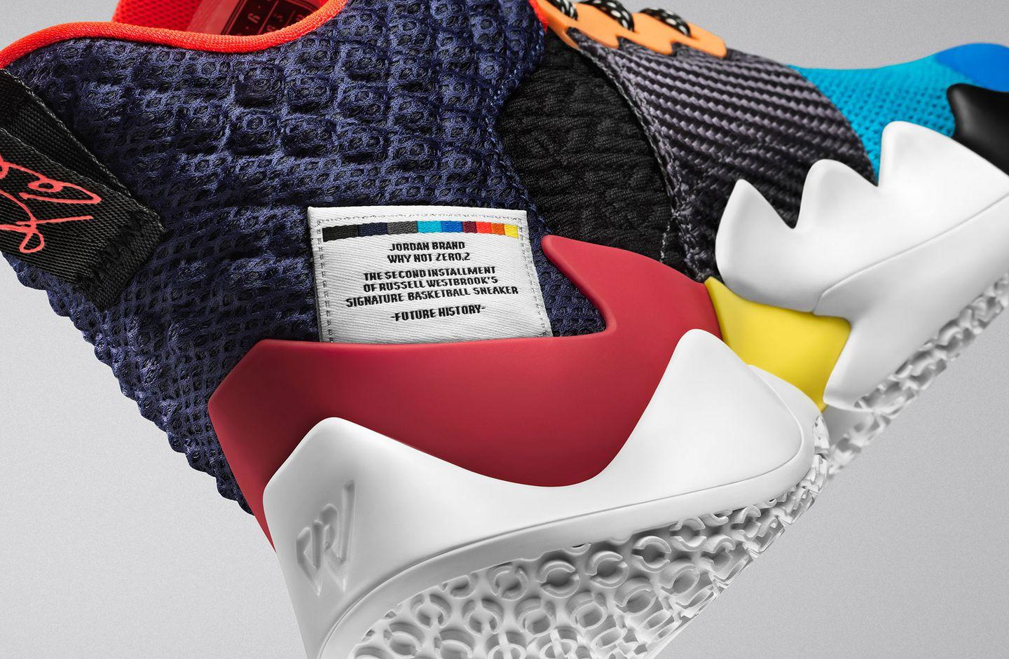b7eeff117 Russell Westbrook s New Jordan Sneakers Are All About  Owning the Chaos