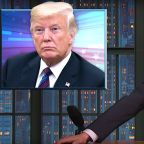 Seth Meyers Has Tasty Theory About Donald Trump's Putin Meeting Notes