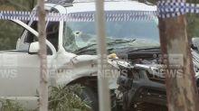 Man shot dead in ambush attack on Victorian highway