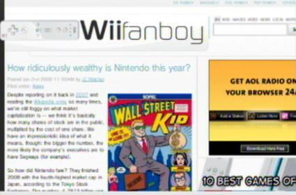 More people browse the net on PS3 than Wii