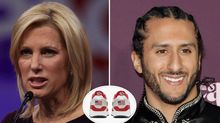 Laura Ingraham Vows to Boycott 'Pathetic' Nike After Flag Shoe Dropped Over Colin Kaepernick's Objections