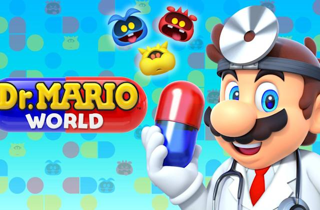 'Dr. Mario World' hits iOS and Android a day early (updated)