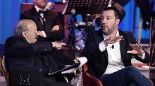 Salvini canta 'Albachiara' da Costanzo, l'ira di Vasco: ma è una fake-news