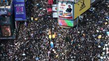 Manifestantes diante de fim de semana crucial em Hong Kong