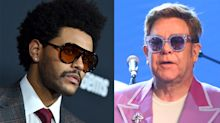 Elton John backs The Weeknd over Grammys snub