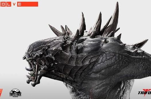 Evolve's Goliath statue is small child and down payment-sized