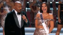 Steve Harvey throws shade at the Oscars, avoids another mistake at Miss Universe