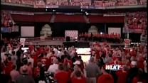 NCAA Champions introduced to fans at celebration