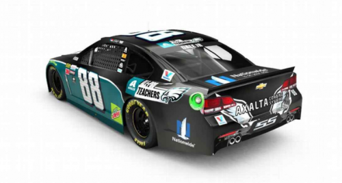 The Dale Earnhardt Jr. Eagles car that will never be. (Courtesy Hendrick Motorsports)