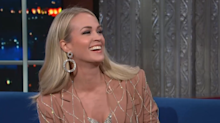 Carrie Underwood after 'American Idol' mishap: 'Please don't kick me off the show'