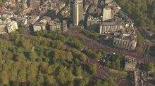 Thousands turn out for People's Vote march in London