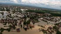 Historic Flooding Threatens the Balkans