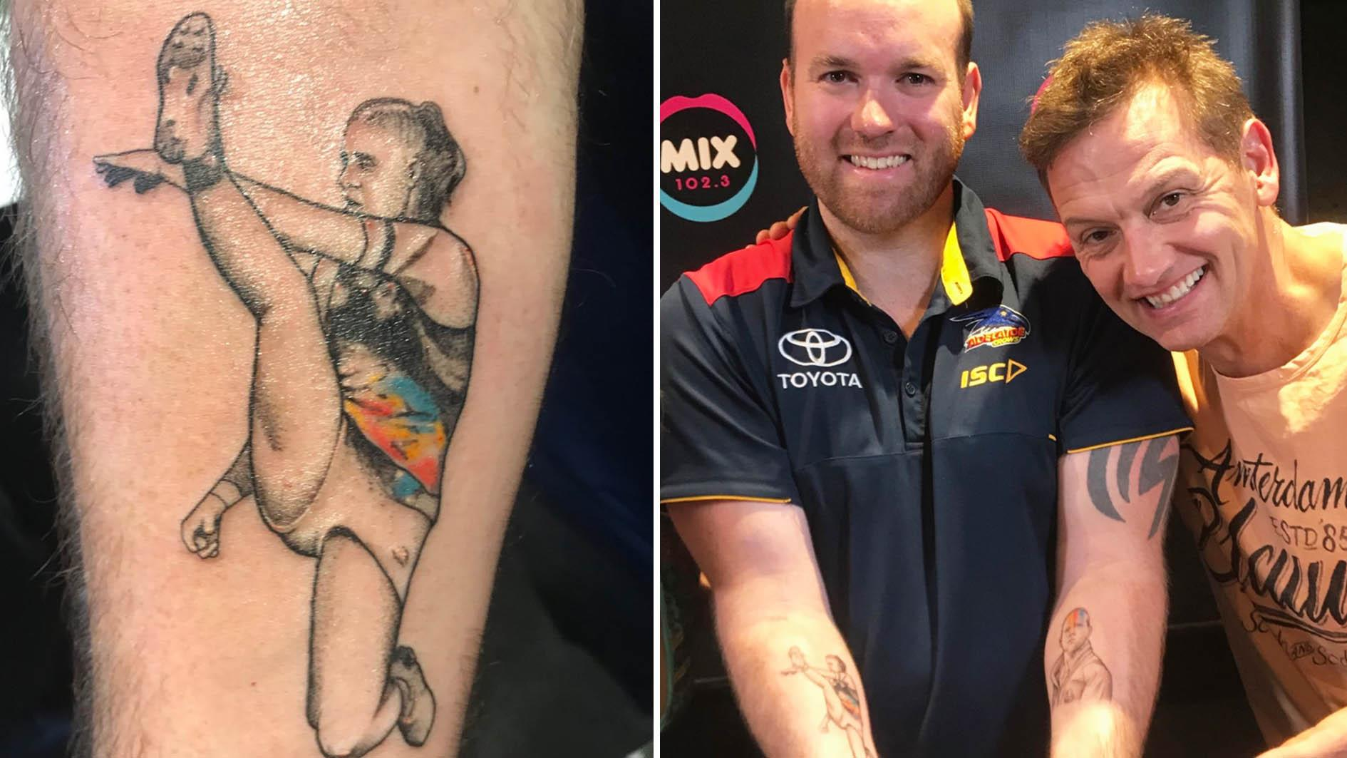 'Get a life': Footy fan with Tayla Harris tattoo hits back at trolls