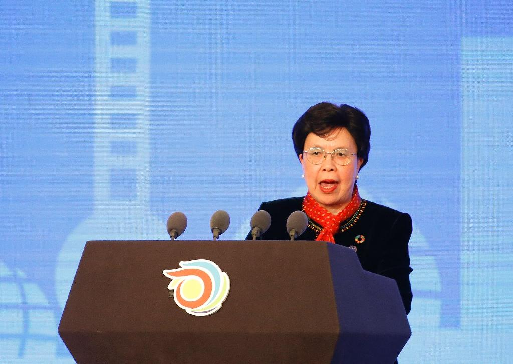 Margaret Chan has been at the helm of the World Health Organization since 2007 (AFP Photo/Aly Song)