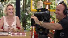Ana Maria Braga constrange cinegrafista ao revelar bastidores