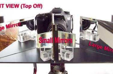 DIY stereoscopic splitter takes your pictures to the third dimension