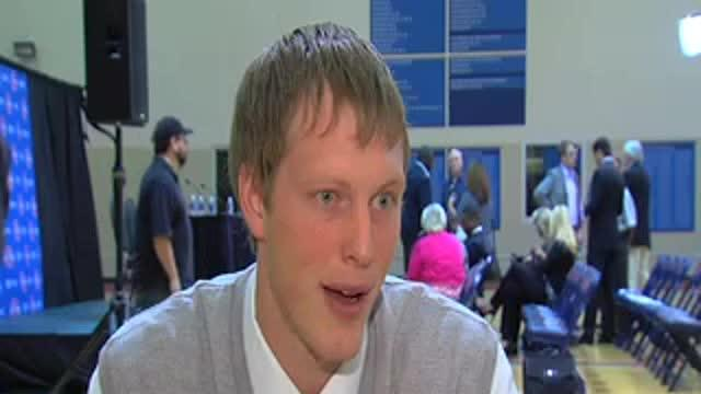 Kyle Singler One-On-One