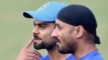 IPL Banter Begins as Harbhajan Pulls Virat Kohli's Leg