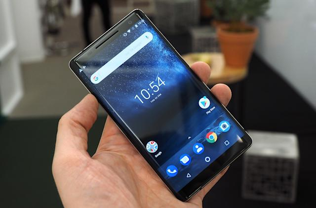 The Nokia 8 Sirocco edition is 95-percent glass