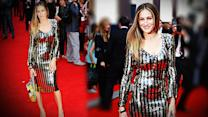 Sarah Jessica Parker Shows Us How to Wear Sequins - and Stripes!