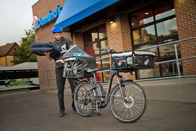Domino's will use e-bikes to deliver pizzas across the US