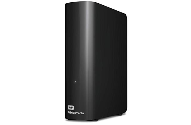 Save $65 on an 8TB Western Digital Elements external drive