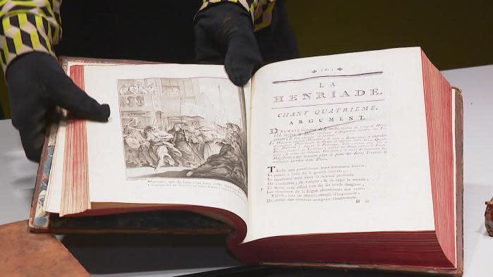 À Ferney-Voltaire, une famille lègue à la commune 30 livres de Voltaire imprimés avant sa mort