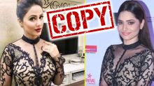 Ankita Lokhande Had Copied Hina Khan Look For Her Red Carpet Appearance