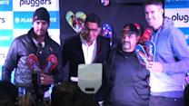 Yuvi and Pietersen launch Pluggers in India