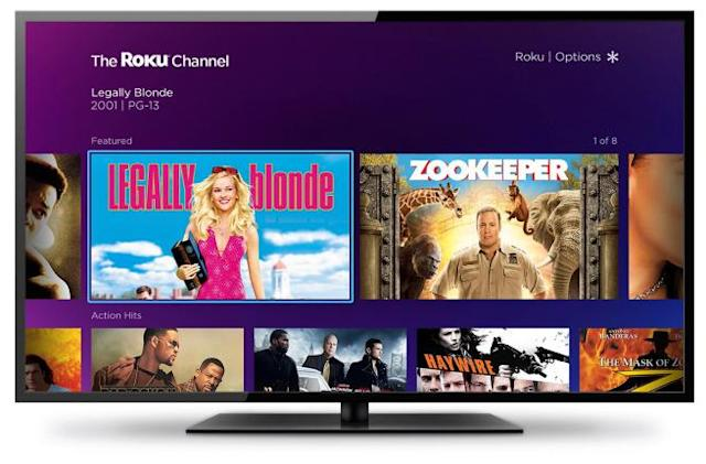 Roku's free movie channel arrives on Samsung smart TVs this summer