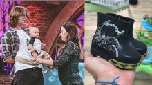 Rafa Vitti é criticado ao comprar bota do Batman para a filha: 'Coisa de menino'