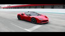Ferrari's new SF90 Stradale is a 986-horsepower hybrid hypercar