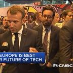 Macron: Europe is the best place for the future of tech