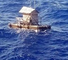 Indonesian teenager survives for 49 days adrift at sea in a flimsy hut