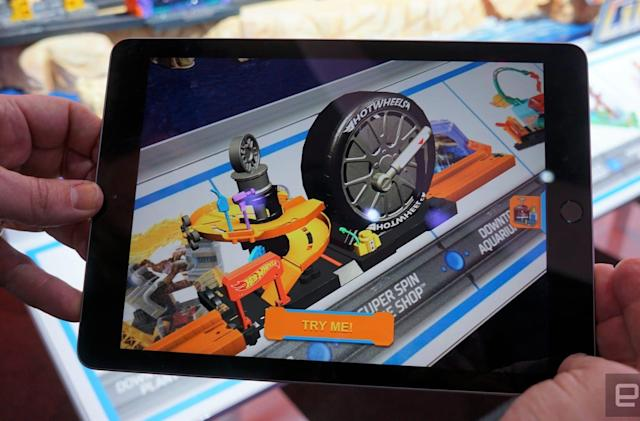 How Mattel is using AR to let you preview Hot Wheels playsets